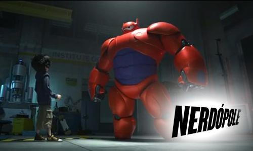 Primeiro filme da Disney em parceria com a Marvel Big Hero 6