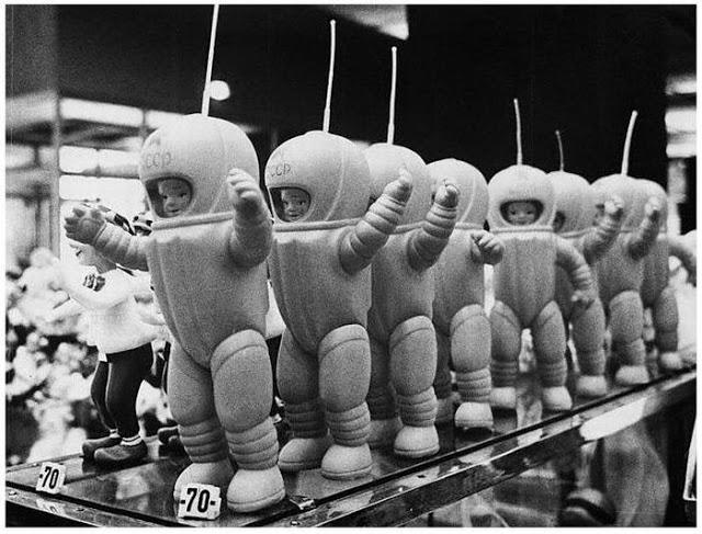 bonecas do espaço