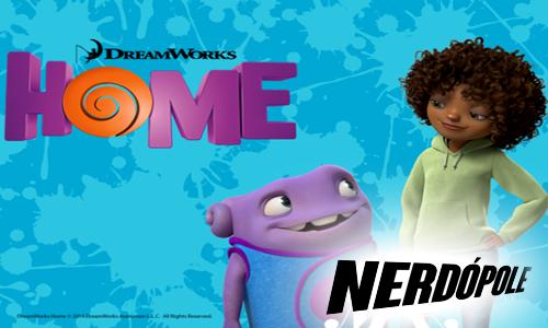DreamWorks  vitrine novo filme Home