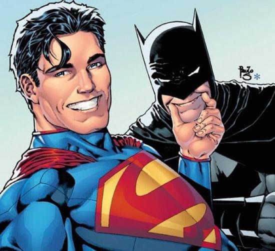 Super-heróis em selfie 001