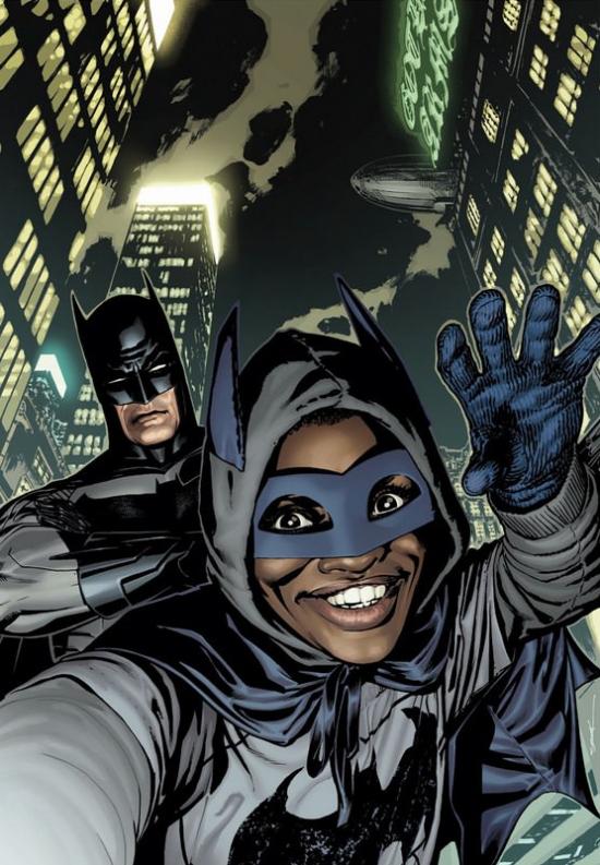 super herois em selfie 005