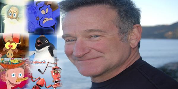 6 Animações dubladas por Robin Williams
