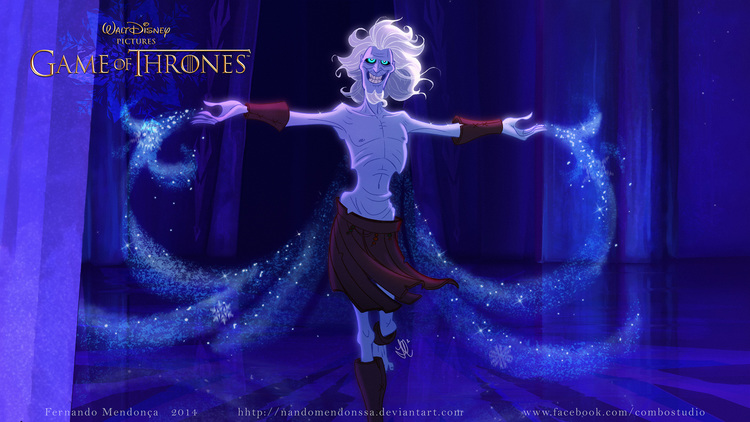 E se Game of thrones fosse uma animação Disney
