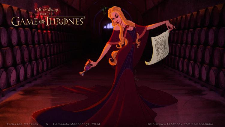 E se Game of thrones fosse uma animação Disney4