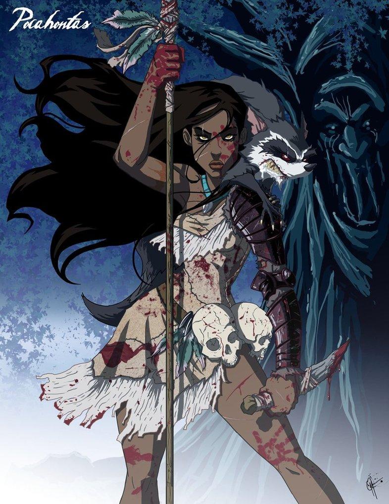 Twisted_Princess__Pocahontas_by_jeftoon01