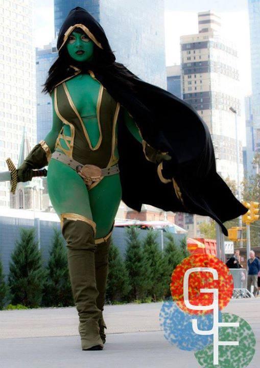 cosplayer Gamora 018