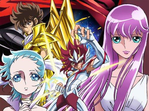 Anime Cavaleiros do Zodíaco Ômega