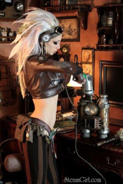 Garotas em Trajes Steampunk 039