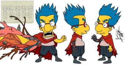 Os Simpsons e Akira 013