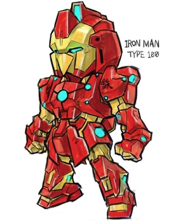 Marvel Vs Gundam 004