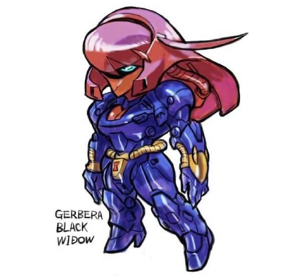 Marvel Vs Gundam 005
