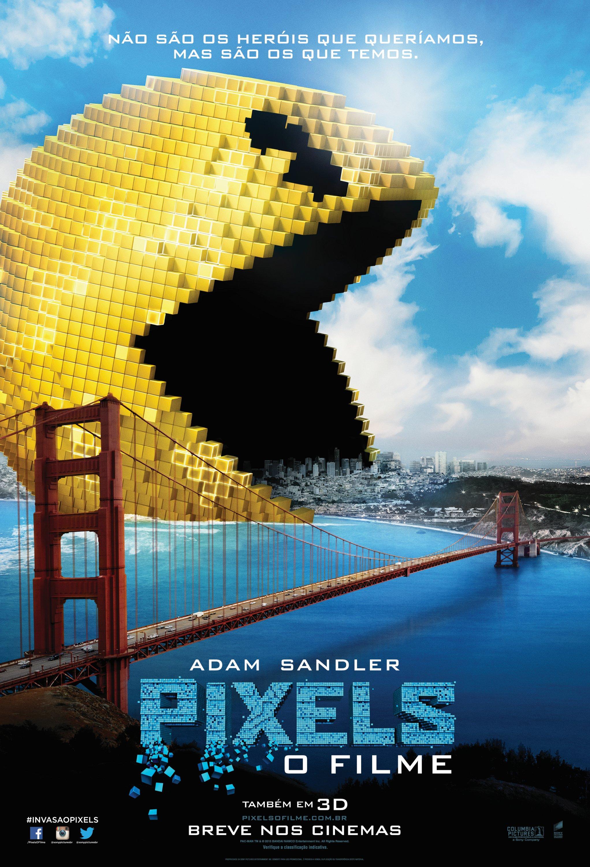 Critica ao filme Pixels