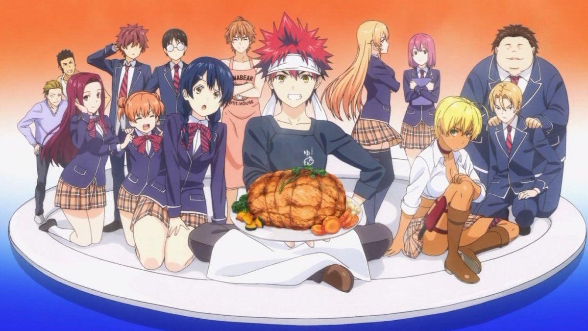 Critica ao Anime Shokugeki no Souma